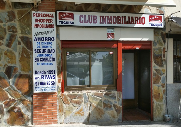 BIENVENIDOS AL CLUB INMOBILIARIO TEGEISA EN RIVAS VACIAMADRID