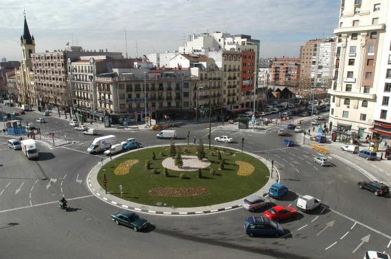 Transformaciones Urbanísticas de la Glorieta de Cuatro Caminos