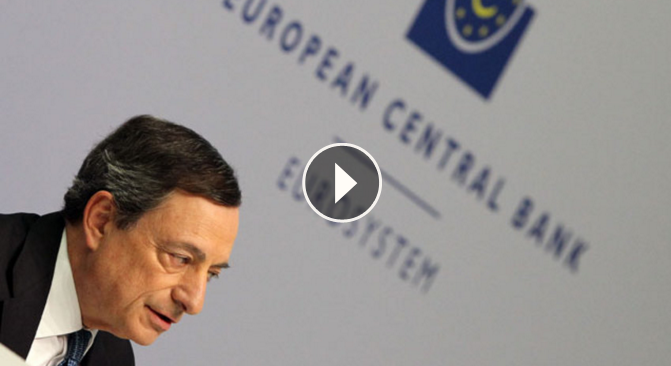 EL PRESIDENTE DEL BANCO CENTRAL EUROPEO. MARIO DRAGHI