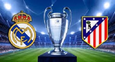 Final Champions 2016. Real Madrid vs Atlético, dos equipos madrileños, disputando la final de Milán.