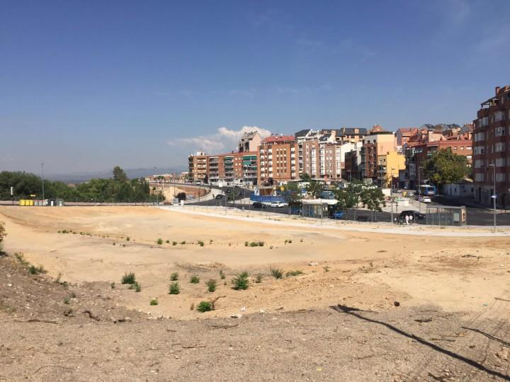 Obras en Paseo de la Dirección – Distrito Tetuán
