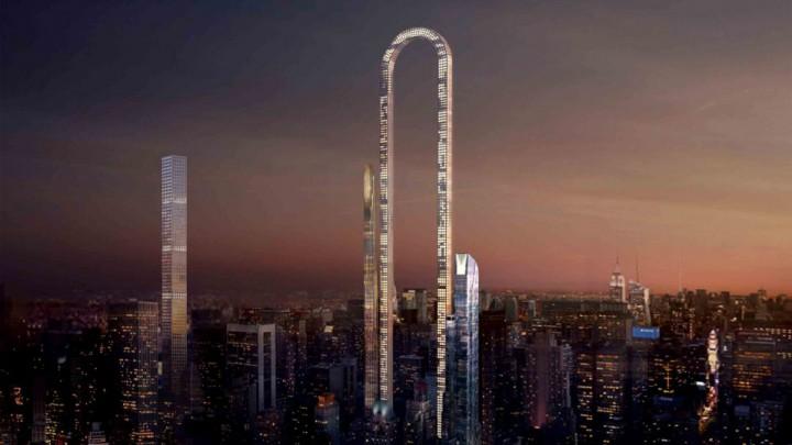 El rascacielos más largo del mundo medirá más de un 1 km y tendrá forma de 'U' invertida