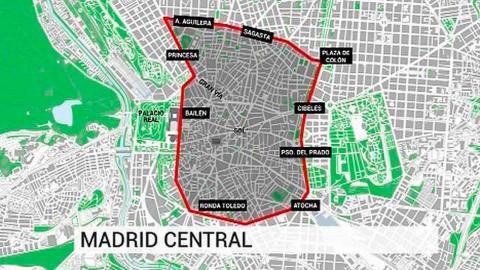 Las claves para circular ahora por Madrid